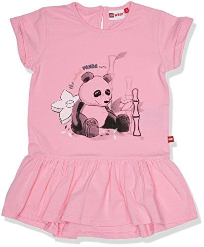 Lego Wear Duplo Girl DEE 302-Kleid Robe, Rot (Pink 449), 24 Mois Bébé Fille