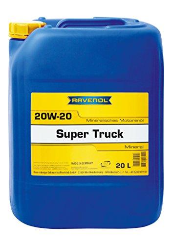 RAVENOL Super Truck SAE 20W-20 / 20W20 Motoröl (20 Liter)