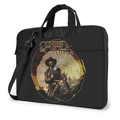 DFHDFH Coheed and Cambria Laptop Bag Laptop Sleeve Case with Shoulder Straps & Handle/Notebook Computer Case Briefcase Compatible 13 inch