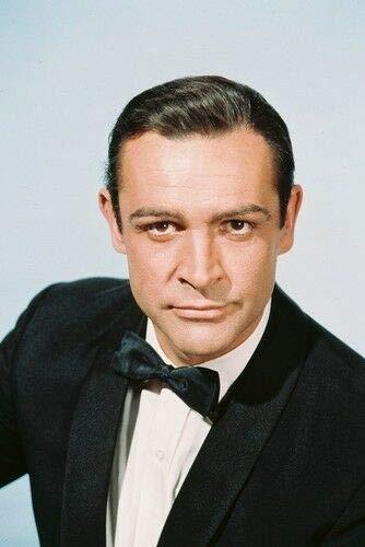 Sean Connery James Bond Poster Suave Tuxedo Goldfinger - No Frame (11x17)