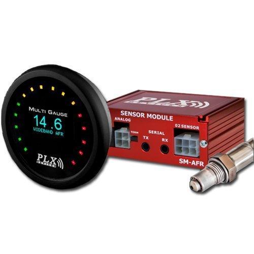 PLX C6afrg4, ensemble de capteur AFR et DM6 à large bande, Noir