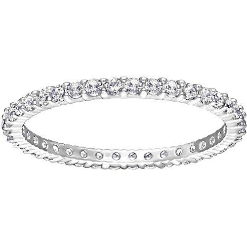Vittore Swarovski anillo blanco plateado 5007779
