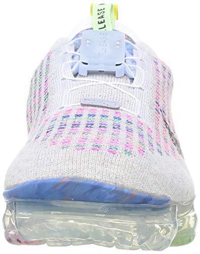 Nike W Air Vapormax 2020 FK, Zapatillas para Correr Mujer, Pure Platinum/Black/Multi/Color, 38 EU