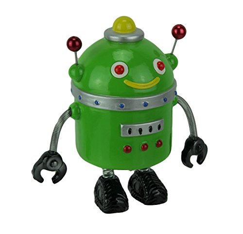 Spring Arm - Hucha con diseño de Robot Retro