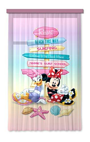 Gardine/Vorhang FCS L 7107 Disney, Mickey Mouse, 140 x 245 cm, 1-teilig