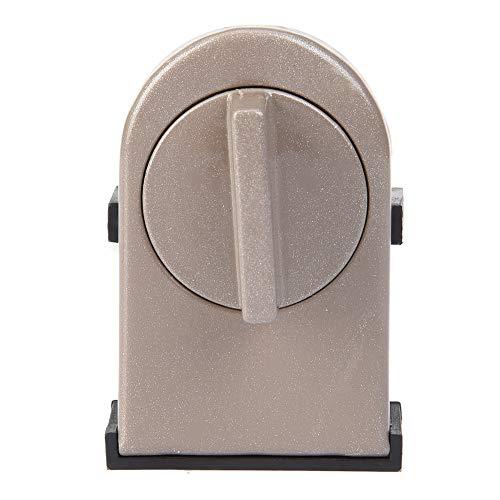 Metalen veiligheidsslot, diefstalbeveiliging, raamstopper, wig, veiligheidsslot, deurslot, robuust verstelbaar, met draaischakelaar voor ramen, schuifdeur