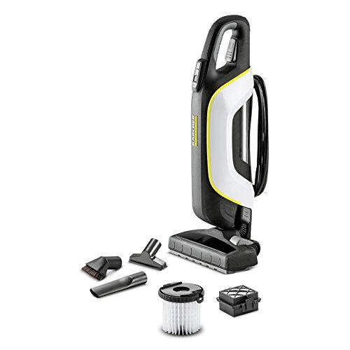 Kärcher VC 5beutelloser Premium Trocken-/Staubsauger (500W, für Teppich und Hartböden, 50/60Hz) schwarz, weiß