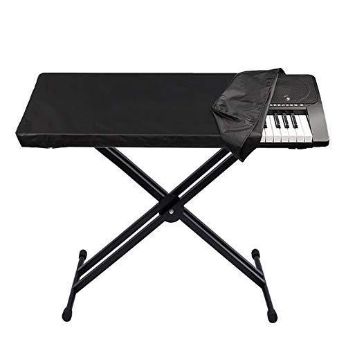 FYZS Piano Teclado Cubierta, Impermeable tecla de música Cubre Teclado Piano Cover, Digitales con Ajustable Cordón elástico, por 61/88 del Teclado de Piano Llaves electrónicas