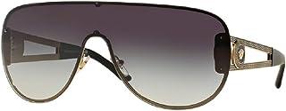 Versace VE2166 Aviator Sunglasses For Men For Women+FREE Complimentary Eyewear Care Kit