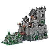 TASS Ideas Stone Castle MOC-36658 - Castillo de arquitectura medieval compatible con Lego Creator (5110 unidades)