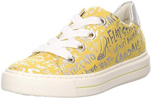 Ara Damen Sneaker Courtyard Highsoft gelb Gr. 42
