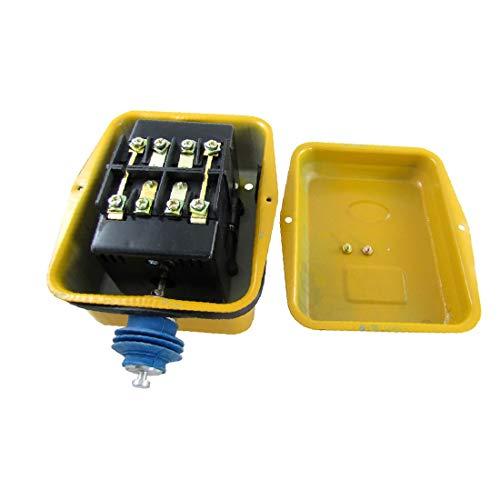 X-DREE AC 380V 40A Interruptor de límite de tipo de impulso momentáneo 4PST 4NC LX101-40A (03ed4b9c8cf5becd778de6792e2eedf1)