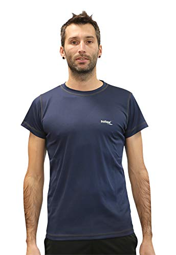Softee Equipment Technics Dry T-Shirt, Homme XL Blanc