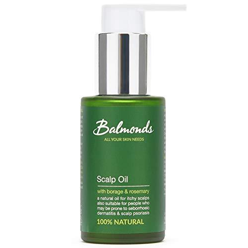 Balmonds Kopfhautöl - Gegen Seborrhoisches Ekzem - 50ml - Natürliche Behandlung Gegen Kopfhaut -Ekzem Psoriasis und seborrhoische Dermatitis