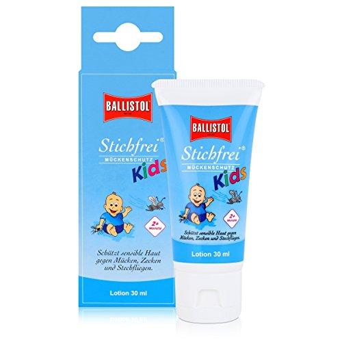 Ballistol Mosquitos (Punto de Libre Kids 30 ML Loción Tube