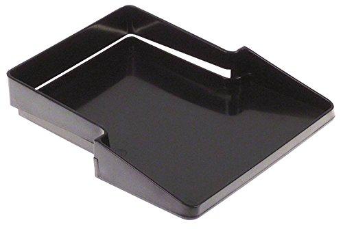 Cunill opvangbak voor koffiemolen Space-Automatic-Inox, Tauro breedte 150 mm lengte 175 mm