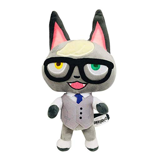 8 Inch Plush Animal Toy Animal Crossing New Plush, A Great Gift for Your Friends Cute Plush (Raymond)