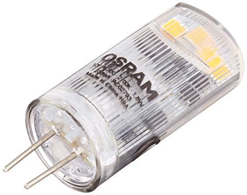 Osram LED Base Pin G4 12 V / Lampe, G4, 1, 80 W, 20-W-Ersatz - für, klar, Warm White, 2700 K, 5 - er-Pack