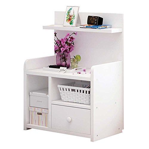 Table de chevet JCOCO avec Panneaux à Base de Bois tiroirs de Rangement, Chambre Casier de Chevet Boîte de Rangement (Couleur : #2, Taille : 42.4 * 26.7 * 60cm)