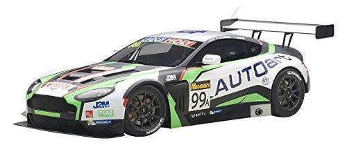 Aston Martin V12 Vantage Bathurst 12hour Endurance Race 2015 #99 JM. Merlin / J. Venter / F. Yu 1/18 by Autoart 81507