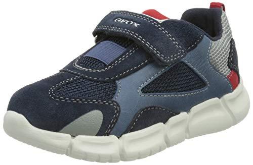Geox Baby-Jungen B FLEXYPER Boy A Sneaker, Navy/RED, 25 EU