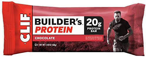 CLIF BAR Builders Bar - Chocolate 68g (PACK OF 12)