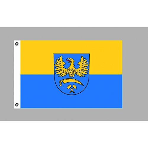 Flagge 90 x 150 : Oberschlesien