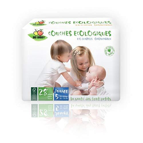 Bio Babby Junior - 12/25 kg - 28 couches écologiques