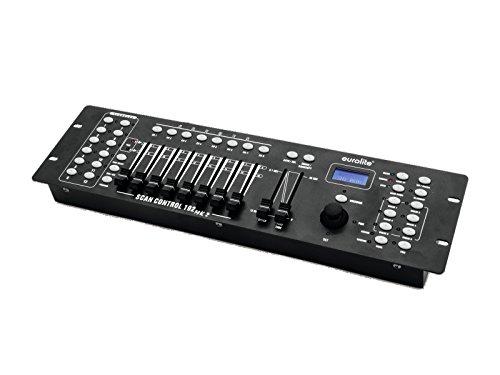 Eurolite DMX Scan Control 192 MK2 Controller für 12 Geräte mit jeweils bis zu 16 DMX-Kanälen und mit Joystick
