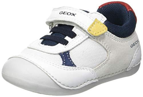 Geox B TUTIM A, Zapatillas Bebé-Niños, White, 19 EU