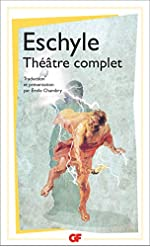 Théâtre complet d'Eschyle