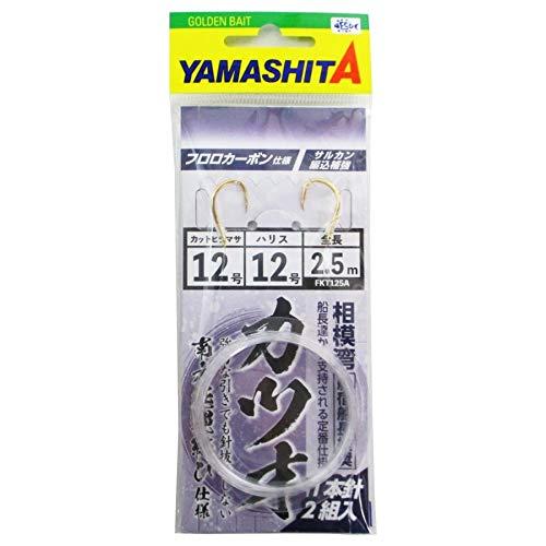 ヤマリア カツオ仕掛FKT125A12号2.5m