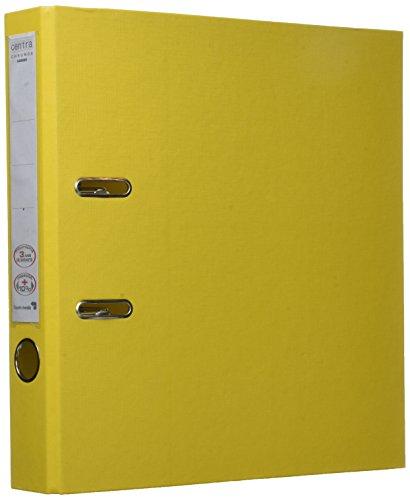 Esselte Chromos Plus–Archivador (A4, con palanca, capacidad: 350hojas, color amarillo A4