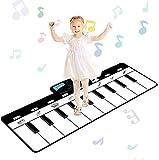 Alfombrilla De Música Para Piano Para Niños, 19 Teclas, Alfombrillas De Baile Musicales Multifunción, Alfombrilla Para Juegos De Educación Infantil Para Niños De 2 A 7 Años, Niñas Y Niños Pequeños