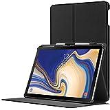 FC Funda para Samsung Galaxy Tab S4 10.5 - Estuche Soporte Protectora Cierre Magnético del Samsung Galaxy Tab S4 10.5 Pulgadas 2018 SM-T830/T835 - Smart Auto Sueño Estela - Delgado Ligera - Negro