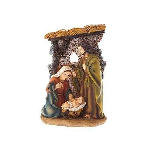 L'Arte Artículos religiosos grupo nativita'cm 11,00 – Decoración árbol de Navidad