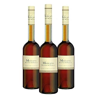 "Pack Moscatel Reserva de Familia - 3 bottles 50cl - Sweet liquor wine D.O.""Málaga"""
