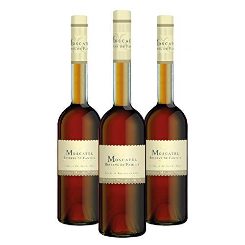 Moscatel Reserva de Familia - Pack 3 botellas de 50cl - Vino de licor dulce D.O.