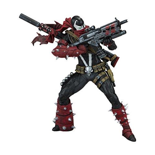 Spawn 99423 - Action figure Commando, 17 cm, colore: Rosso/Nero