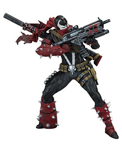 Spawn 99423 Commando - Figura de acción, Color Rojo y Negro, 7 Pulgadas