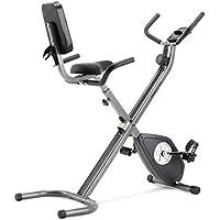 CADENCE Unisex - Bicicleta estática plegable SMARTFIT 200, negro y plata