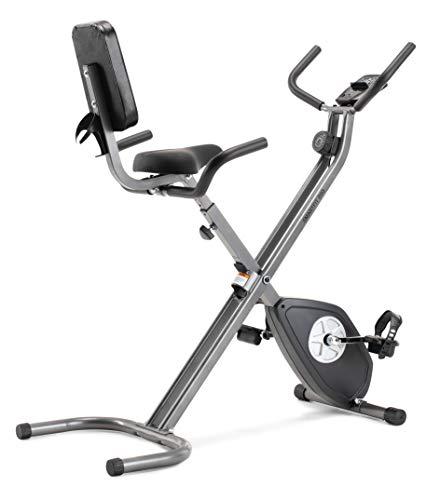 CADENCE Unisex - Bicicleta estática plegable SMARTFIT 200, negro y plata.