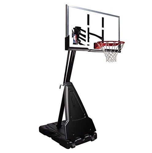Spalding Portable Basketball System - 54inch Aluminum Trim Acrylic Backboard