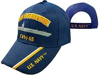 USS Enterprise CVN-65 Aircraft Carrier Cap Navy