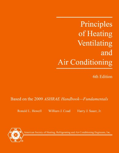 Principles of Heating, Ventilating and Air-Conditioning, 6th edition