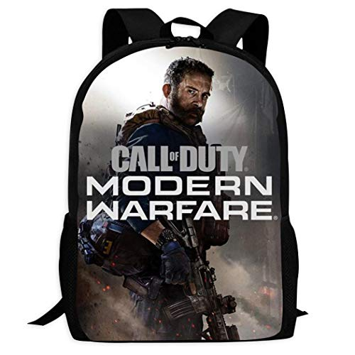 MAPICELLA Unisex School Bags Satchel Call_of_Duty Poster Modern Warfare Laptop Backpack Shoulder Daypack for Student Travel