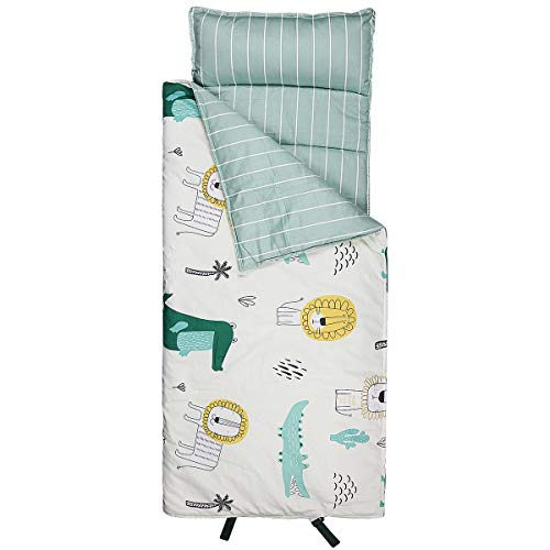 Hi Sprout Kids Toddle Lightweight and Soft Nap Mat (Crocodile)