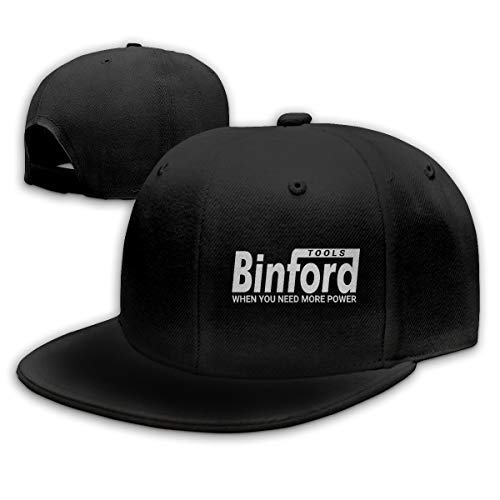 NYF Binford Tools Hat Fashion Baseball Caps Adjustable Casquette Flat Hats Men Womens Hip Hop Caps Black
