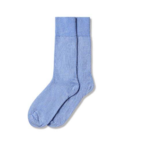 The Cambridge Sock Company Mohair-Socken für Herren & Damen, luxuriöse, weiche Darwin Socken L Harebell