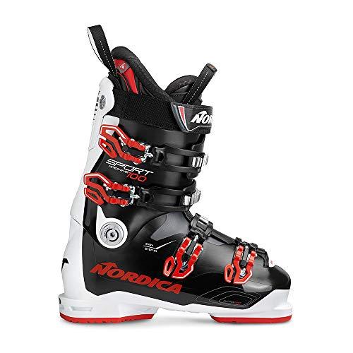 Nordica SPORTMACHINE 100 Ski Schuh 2019 Noir/Blanc/Rouge